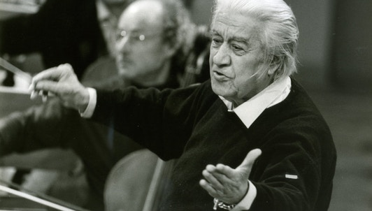 Sergiu Celibidache, the triumphant return