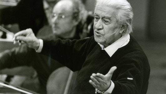 Sergiu Celibidache, le retour triomphant