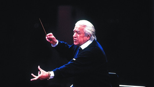 Sergiu Celibidache conducts Bruckner's Symphony No. 7
