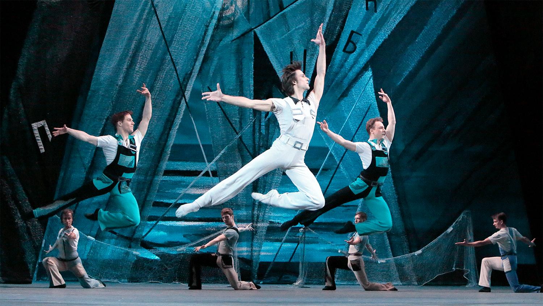Ballet The Golden Age by Yuri Grigorovich, music by Shostakovich