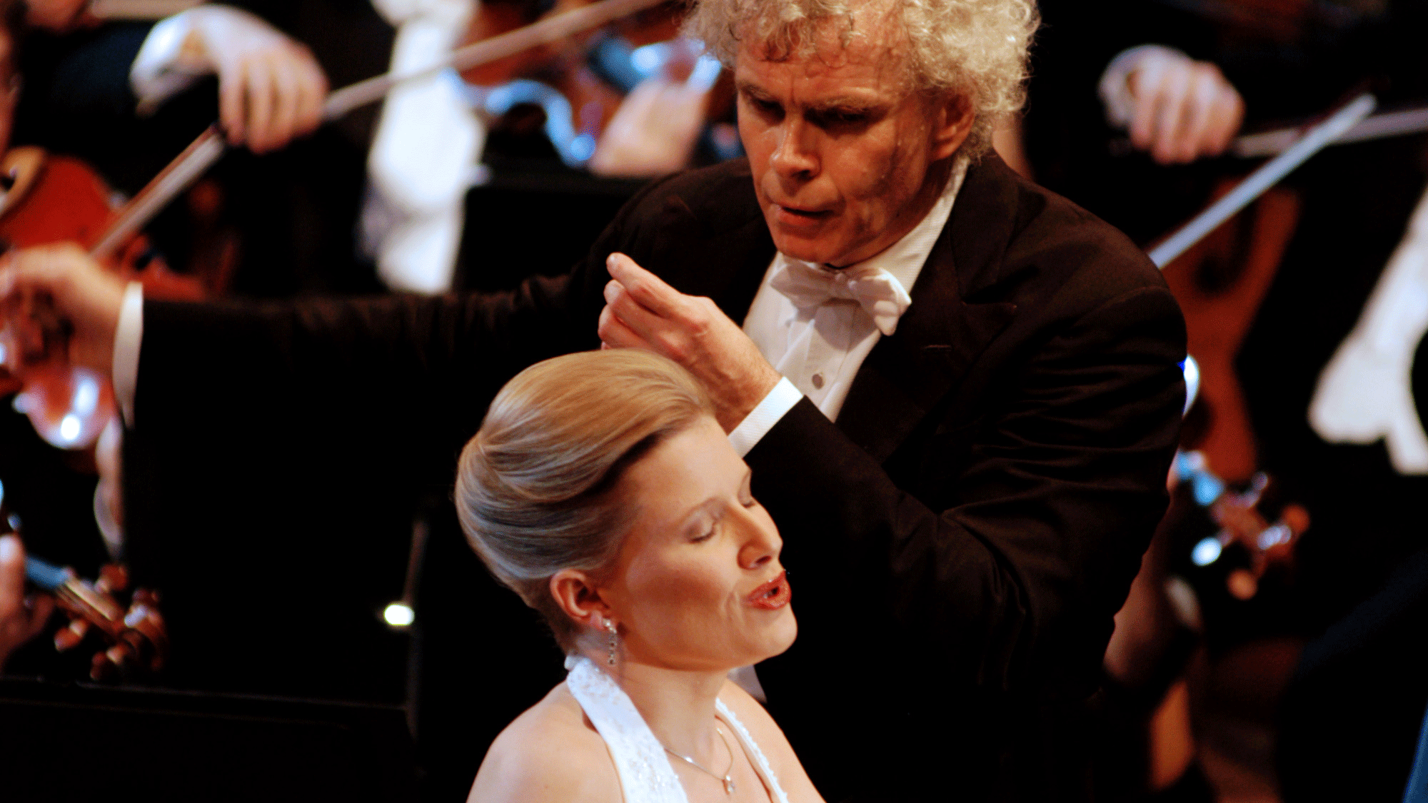Sir Simon Rattle conducts Carl Orff's Carmina Burana – With Sally Matthews, Lawrence Brownlee, and Christian Gerhaher