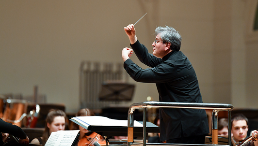 Sir Antonio Pappano conducts an all-French program of Boulanger, Ravel, and Saint-Saëns
