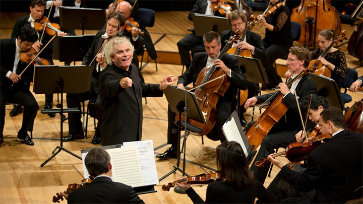 Sir Simon Rattle conducts Mozart's last three symphonies