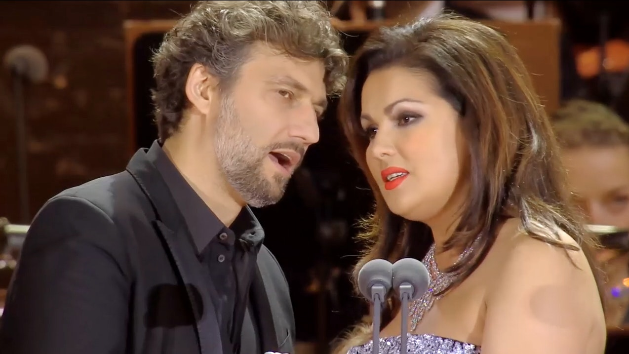 Three stars in Munich: Anna Netrebko, Jonas Kaufmann, Thomas Hampson...