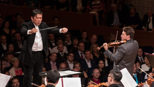 Long Yu conducts Avshalomov, Tchaikovsky and Shostakovich — With Maxim Vengerov