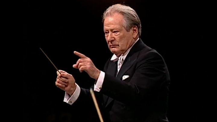 Sir Neville Marriner conducts Mozart in Lugano