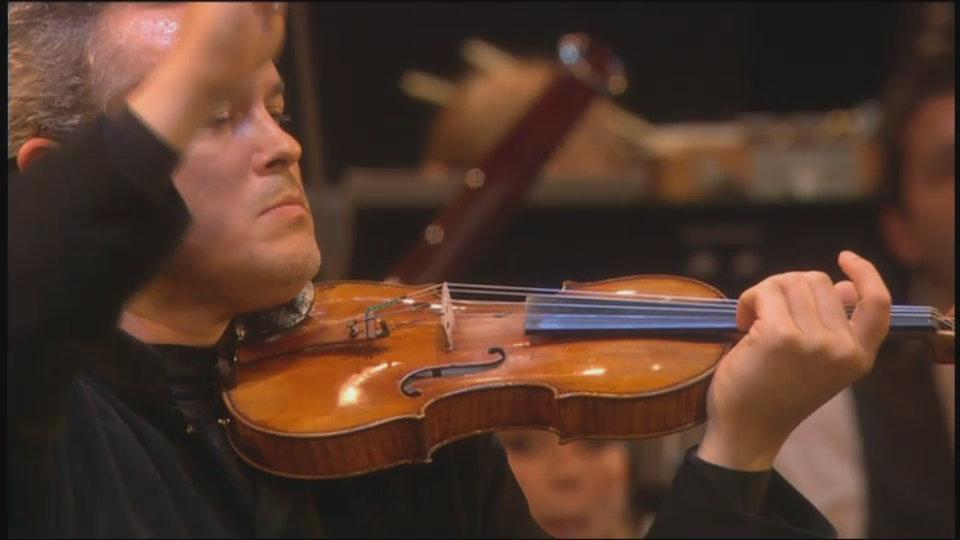 Charles Dutoit and Vadim Repin in Chostakovitch, Strauss and Mozart