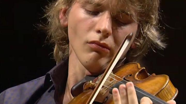 Natural born fiddler