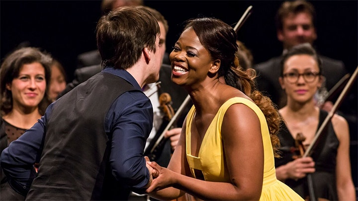 Joshua Bell performs Mozart, Bruch and Beethoven – With Pretty Yende