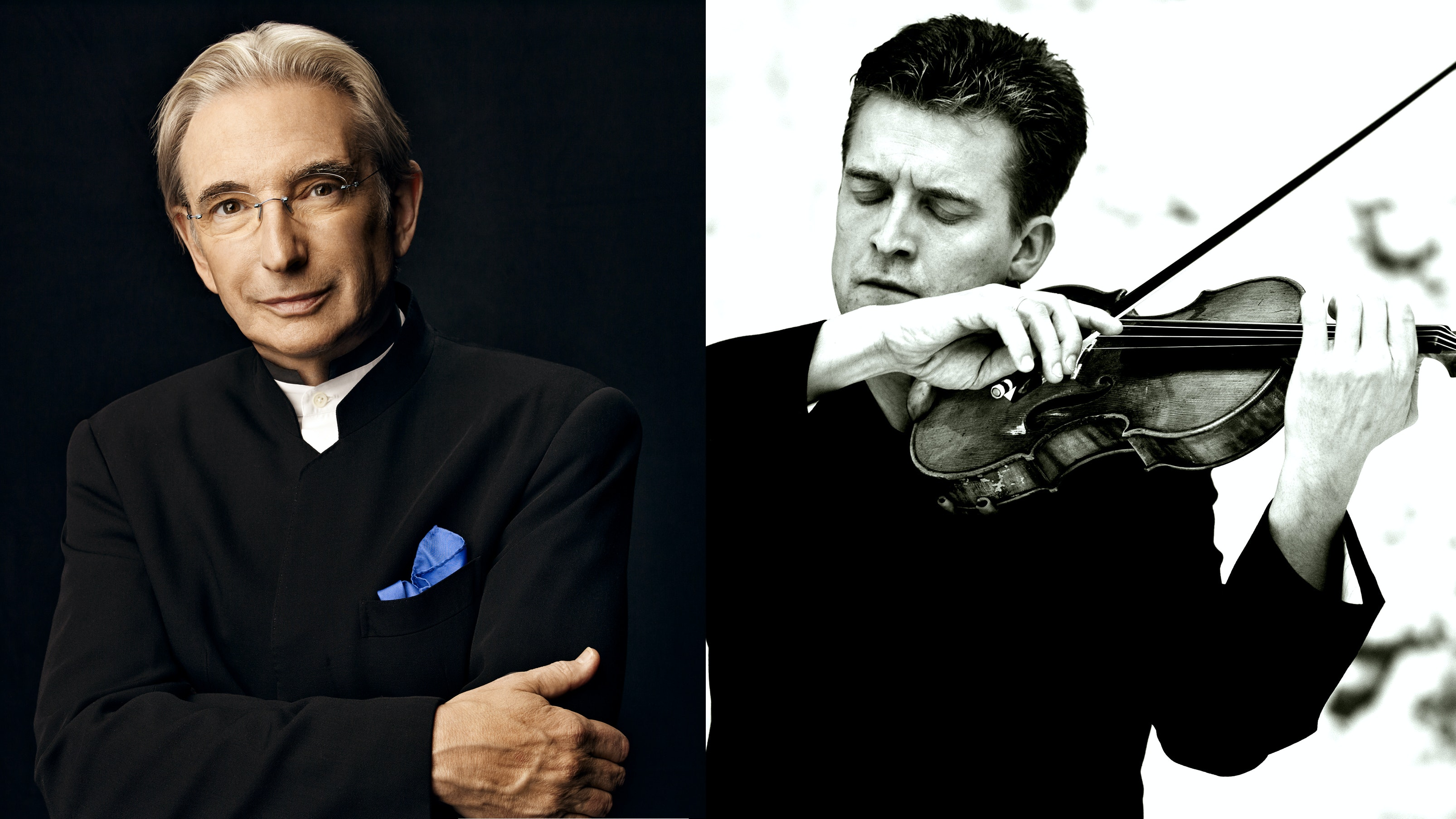 Michael Tilson Thomas conducts Cage, Ligeti and Beethoven – With Christian Tetzlaff