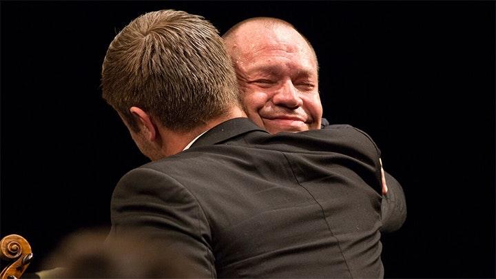 Thomas Quasthoff conducts Bach's Saint Matthew's Passion