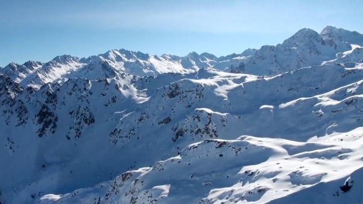 Verbier St-Bernard in the winter