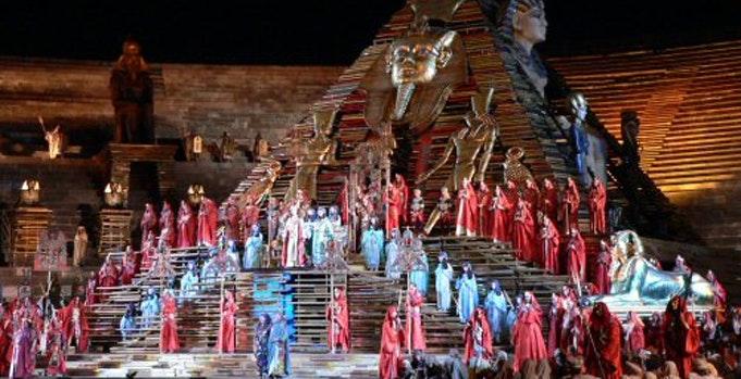 Verdi's Aida in Verona