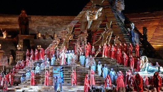 Aida de Verdi à Vérone