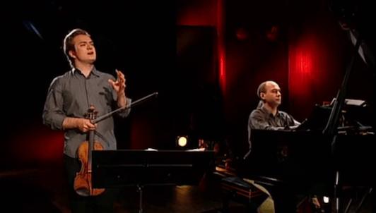 Un violon pour Renaud