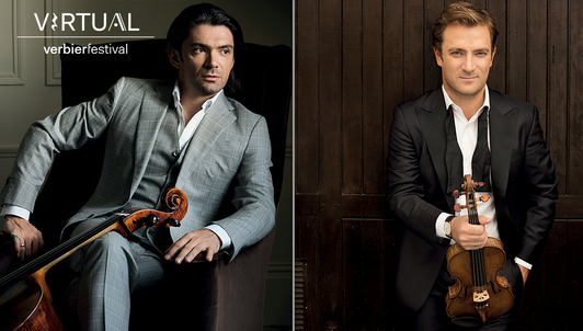 A day with Gautier and Renaud Capuçon I: Brand-new moments at the Virtual Verbier Festival