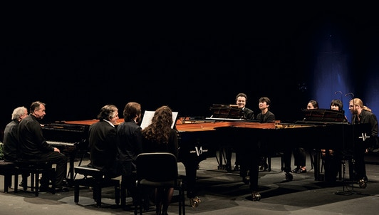 A day with Pianists of Verbier