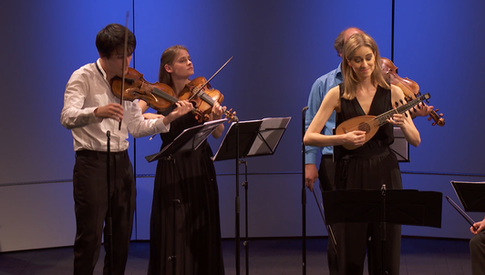 NEW VOD: The Ensemble Jupiter plays Vivaldi — With Anna Schivazappa and Thomas Dunford