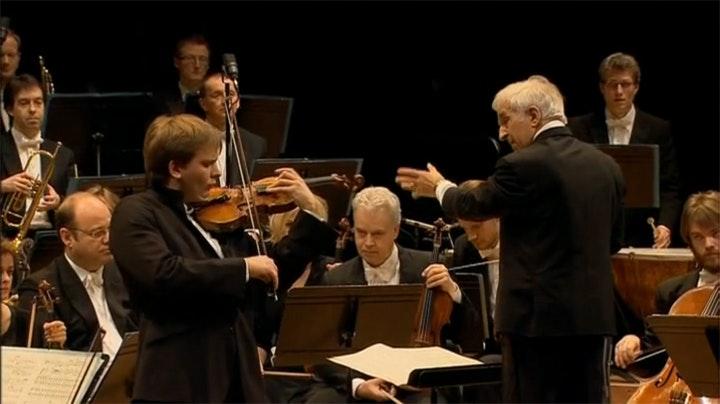 Vladimir Ashkenazy and Valeriy Sokolov perform Sibelius