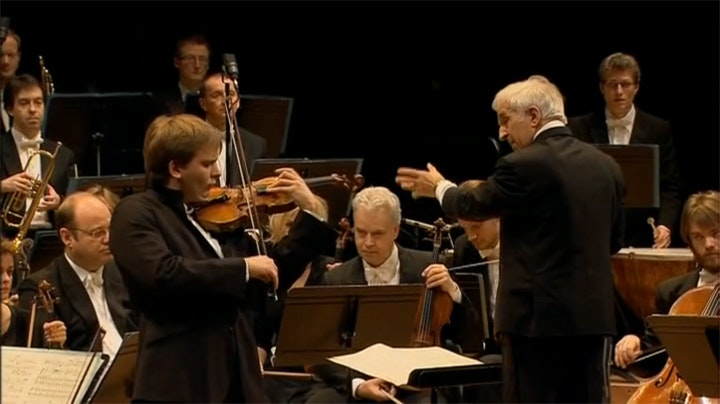 Vladimir Ashkenazy and Valeriy Sokolov perform Sibelius
