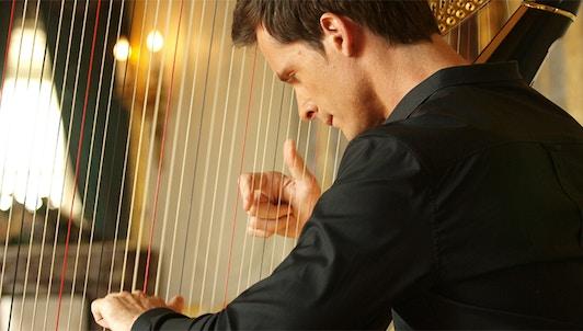 Xavier de Maistre, Récital de harpe