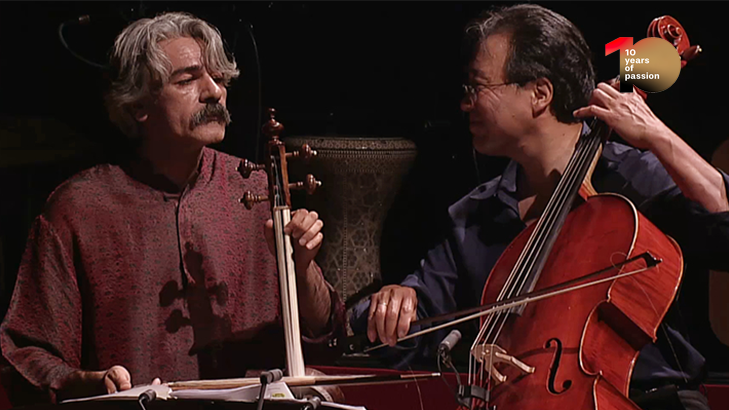[#medicitvis10] The Silk Road Ensemble with Yo-Yo Ma