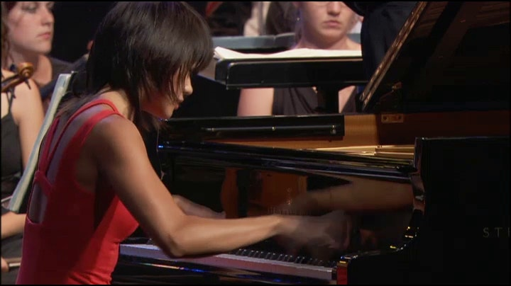 Yuja Wang and Charles Dutoit perform Enescu, Prokofiev, Mahler