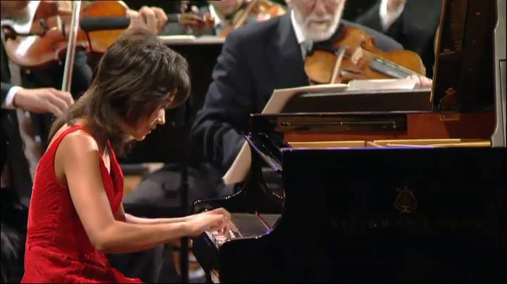 Yuja Wang and Claudio Abbado play Prokofiev and Mahler