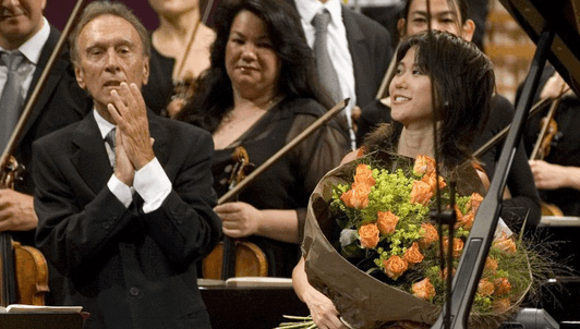 Claudio Abbado conducts Prokofiev and Mahler – With Yuja Wang
