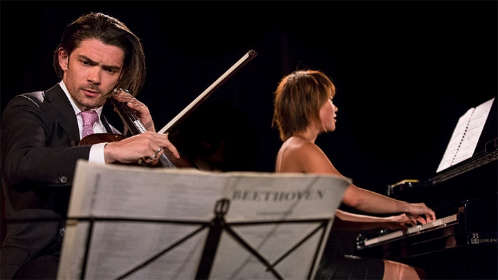 Yuja Wang and Gautier Capuçon play Shostakovich and Rachmaninov