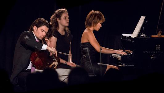 Yuja Wang et Gautier Capuçon jouent Chostakovitch et Rachmaninov