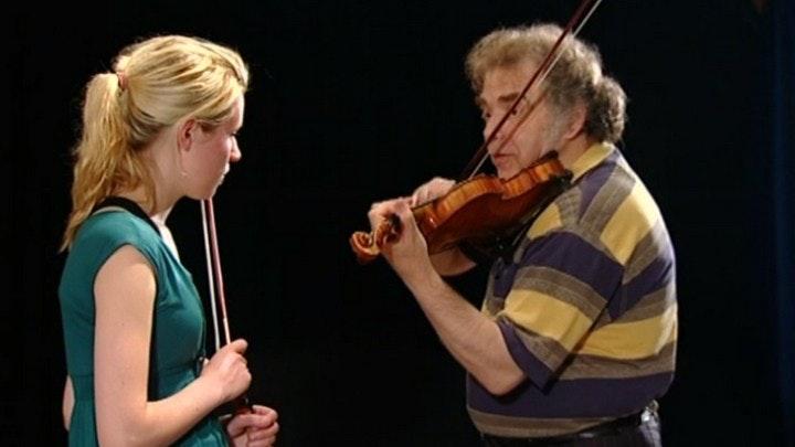 Zakhar Bron enseigne Bach : Chaconne de la Partita n°2 pour violon seul