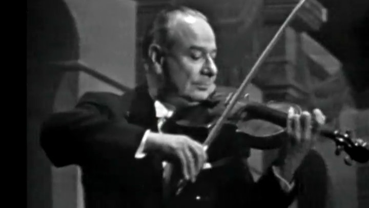 Zino Francescatti interprète Mozart et Beethoven