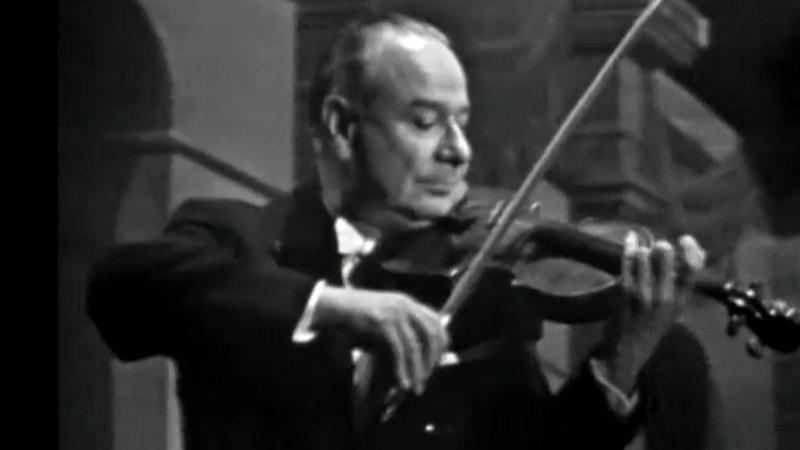 Concert Zino Francescatti plays Mozart and Beethoven - medici.tv